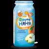 ФрутоНяня пюре Яблоко-персик, 250 г, 5 м+
