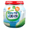 Пюре ФрутоНяня из кабачков с молоком, 100г