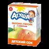 Агуша Сок яблоко-персик  (200мл)