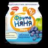 Пюре ФрутоНяня яблоко-черника с 5 мес, 100 г