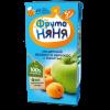 Сок ФрутоНяня из яблок и абрикосов с мякотью, 0,2л