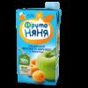 Сок ФрутоНяня из яблок и абрикосов с мякотью, 0,5л